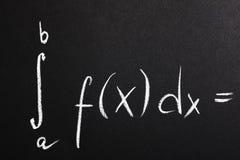 De formule van Math royalty-vrije stock foto
