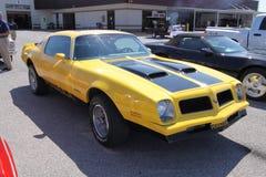 De Formule van Pontiac Firebird biedt het hoofd Stock Afbeeldingen