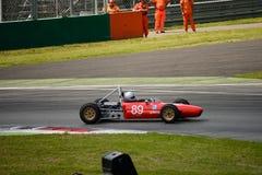 1963 de Formulemindere van Branca FJ in Monza Royalty-vrije Stock Afbeeldingen