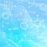 De formules van de fysica Royalty-vrije Stock Fotografie
