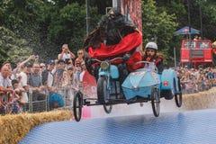 De Formuletoverstokje van Red Bull Soapbox Stock Foto's