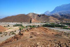 De forntida bikupagravvalven på Jabal västra Misht Arkivfoto