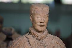 De forntida kinesiska kulturella relikerna av Terra Cotta Warriors Royaltyfri Fotografi