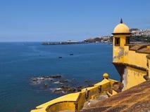 de Fortaleza Funchal sao tiago Zdjęcia Stock