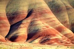 De fot målade kullarna Oregon Royaltyfri Foto