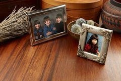 De Foto's van de familie stock foto