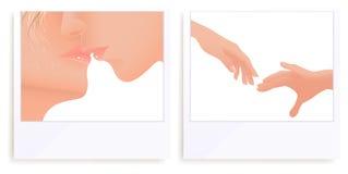 De foto's van de liefde vector illustratie