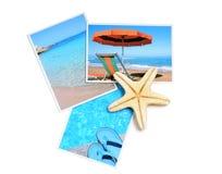 De foto's van de zomer Stock Fotografie
