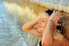 De foto's van het weer - Hittegolf Royalty-vrije Stock Afbeelding