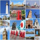 De foto's van Londen Royalty-vrije Stock Afbeelding
