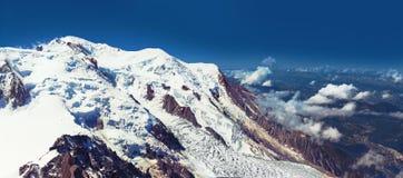 De foto van alpen Stock Afbeeldingen