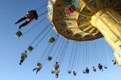 De foto van de actie van carrousel Stock Afbeelding