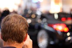 De foto van de auto Stock Afbeeldingen
