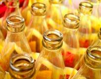 De foto van de fles royalty-vrije stock afbeelding