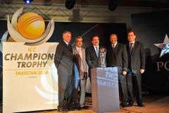 De foto van de groep bij ICC lancering Stock Foto