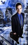 De Foto van de voorraad: Globale BedrijfsZorgen Stock Afbeelding