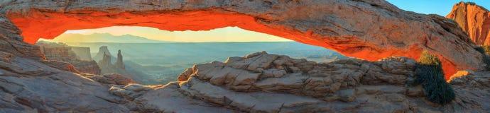De Foto van de voorraad van de Rode Vorming van de Rots, het Nationale Park van Bogen stock foto
