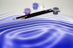 De Foto van de voorraad van het Concept van de Waterverf Royalty-vrije Stock Afbeeldingen