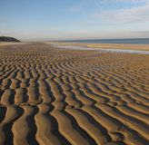 De Foto van de voorraad van het Zand van de Textuur Stock Afbeeldingen