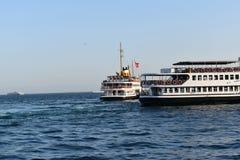 De foto van het bosphorusschip van Istanboel stock foto's