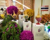 de foto van het de orchideeparadijs van toonbeeldbangkok op 26 november 2014 wordt genomen die Stock Afbeelding