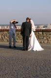 De foto van het huwelijk Stock Foto