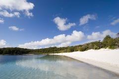 De foto van het landschap van meer mckenzie 4 Stock Foto's