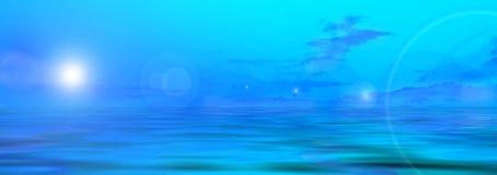 De foto van het panorama van weide stock illustratie