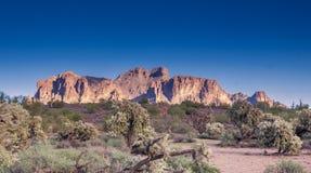 De foto van het reistoerisme van toneel de woestijnlandschap van Arizona, de V.S. royalty-vrije stock foto
