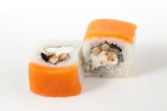De foto van Japan van het sushivoedsel Royalty-vrije Stock Afbeelding