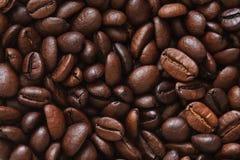 De foto van koffiebonen Stock Afbeeldingen