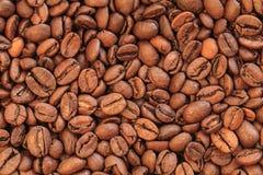 De foto van koffiebonen Royalty-vrije Stock Foto's