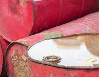 De trommels van de olie Stock Afbeelding