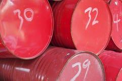 De trommels van de olie Stock Foto's