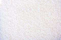 De foto van salpetertextuur bestaat uit vele kleine ballen Stock Afbeelding