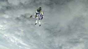 De foto van Skydiving stock videobeelden