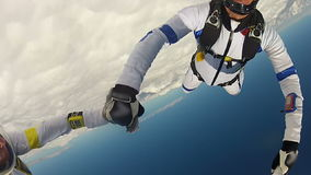 De foto van Skydiving stock footage