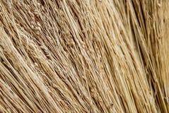 De foto van textuur van het droge stro royalty-vrije stock afbeelding