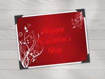 De fotoachtergrond van de valentijnskaartendag Royalty-vrije Stock Fotografie