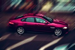 De fotocanon BMW Londen van de fotografieauto royalty-vrije stock fotografie