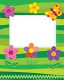 De fotoframe of kaart van het plakboek Royalty-vrije Stock Foto
