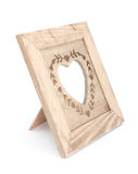 De fotoframe van het hart Stock Fotografie