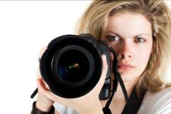 De fotograaf stock afbeeldingen