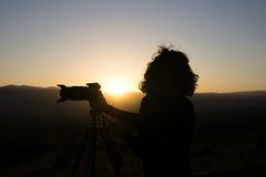 De fotograaf Stock Foto