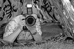 De fotograaf van de aard Royalty-vrije Stock Foto