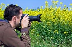 De Fotograaf van de aard Stock Foto's