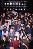 De fotografen van de pers royalty-vrije stock foto's
