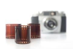 De fotografie van de film Royalty-vrije Stock Foto's