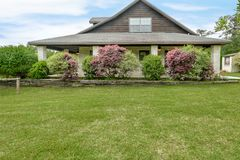 De Fotografie van Texas Mini Farm /Ranch Real Estate stock foto