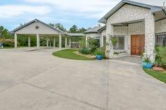 De Fotografie van Texas Mini Farm /Ranch Real Estate royalty-vrije stock afbeeldingen